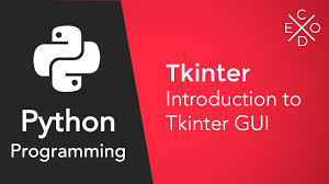 Introduction to Tkinter | Getting started – Technoinc